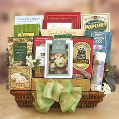 Discover our selection of holiday gift baskets at World Market. Always affordable, they're packed with gourmet foods and gifts you won't find anywhere else. Sympathy Gift Baskets, Sympathy Gifts, Boyfriend Care Package, Boyfriend Gifts, Green Care Package, 21st Birthday Basket, Sunshine Care Package, Best Gag Gifts, Halloween Care Packages