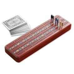 Card game called Cribbage and a board to count the score. I remember many nights when I was a child and my parents and grandparents played this. Group Games, Family Games, Fun Games, Games To Play, Game Boards, Board Games, Board Game Storage, Fishing Shop, Cribbage Board