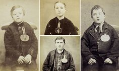 The Victorian Asbo kids: Some of the first ever police mugshots show 19th-century petty criminals including one aged just TEN who was jailed...