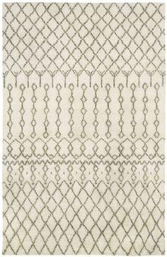 Kasbah Trellis Ivory Rectangle Rug