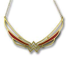 Wonder Woman Symbol Collar Necklace