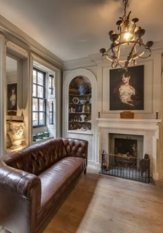 Inside Chris and Sarah Dyson's elegant restored Georgian home.