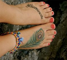 Tattoos on foot: want to get the word GRATITUDE tattooed. Thinking about on my foot like this. Has to be where I'll see it, but where it can be covered if necessary.