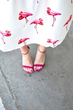 Flamingo Skirt | Chronicles of Frivolity