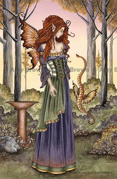 amy brown Fairy Myth Mythical Mystical Legend Elf Fairy Fae Wings Fantasy Elves…