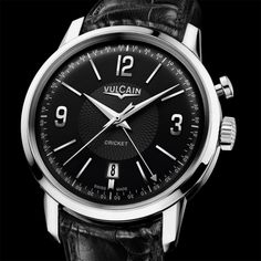 Vulcain 50s Presidents' Watch Steel. #bremont Swiss Watchmakers  #horlogerie #vulcain @calibrelondon