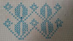 O Tunisian Crochet, Crochet Stitches, Embroidery Stitches, Hand Embroidery, Kutch Work, Cross Stitch Borders, Weaving Patterns, Basket Weaving, Quilt Blocks