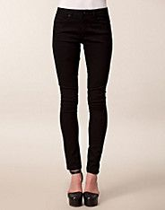 Paris Trousers, Sort Denim