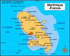 Martinique Atlas: Maps and Online Resources | Infoplease.com