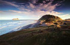 East Cape sunrise, North Island, NZ