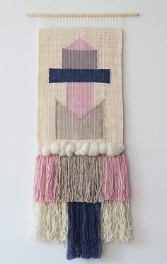 A personal favorite from my Etsy shop https://www.etsy.com/listing/267201845/woven-wall-hanging-weaving-wall-art-hand