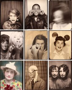vintage photobooths.
