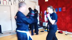 Self defense drills included boxing #xiaolukarate #abq #karate