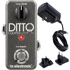 Ditto Looper was designed from the ground up with guitarists in mind. Hey we play too so it's what made sense to us. We made sure Ditto Looper takes up minimal space on your board but still has the...