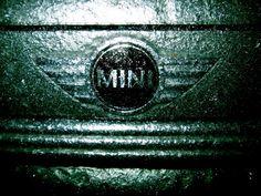 MINI Cooper S After a Winter Ice Storm  #mini, #car, #winter, #ice