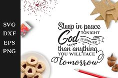 FREE Sleep in Peace Tonight Cut File for Personal Use - Free Faith Cut File - Free Christian Cut Ready Design - Free Bedroom Sign Laser Cutter Engraver, Mailbox Decals, All Silhouettes, Easter Quotes, Farm Signs, Bedroom Signs, Adventure Quotes, Silhouette Designer Edition, Religious Quotes