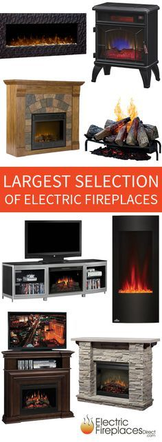 Charming The Largest Selection Of Electric Fireplace Products On The Internet  Including Premium Wall Mounts, TV Gallery