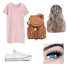"""""""Untitled #24"""" by whitp12 on Polyvore featuring J.Crew, Converse, See by Chloé and MINX"""