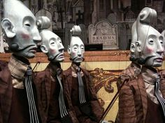"Puppets from Lemony Snicket's ""The Composer Is Dead"" by the Phantom Limb Company~Photograph © Jeralyn Gerba"