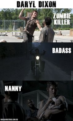 Daryl Dixon, The Walking Dead. He is easily my favorite character.