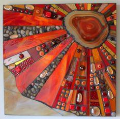 """Agate Energy"", Multimedia mosaic"