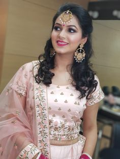Best Bridal Makeup Artist In Chandigarh - Price & Contact Best Bridal Makeup, Indian Bridal Makeup, Bride Makeup, Beautiful Girl Image, Beautiful Models, Beautiful Women, Affordable Bridal, Bridal Gallery, Beautiful Indian Actress