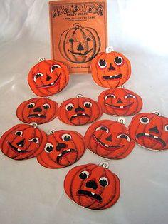 Vintage Halloween Game ~ Beistle Pumpkin Game