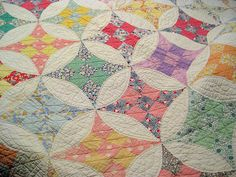 "Great-Grandma made a ""friendship quilt""