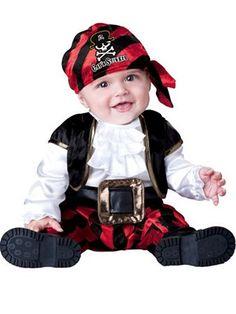 Infant Toddler Cap'n Stinker Pirate Costume