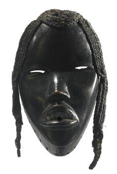 Dan Deangle Mask, Ivory Coast http://www.imodara.com/post/90185413604/ivory-coast-dan-deangle-circumcision-camp-mask