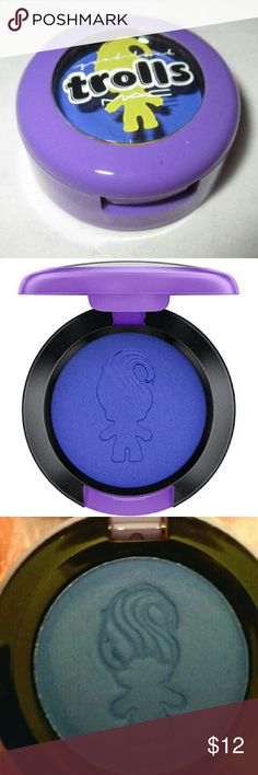 LE MAC Trolls Atlantic Blue Eyeshadow LE MAC Trolls Atlantic Blue Eyeshadow. BNIB. NWT. MAC Cosmetics Makeup Eyeshadow