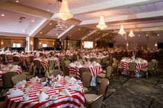 Carnival Themed Elwyn Ball at Springfield Country Club   Photo: Jessica Rachel Photography