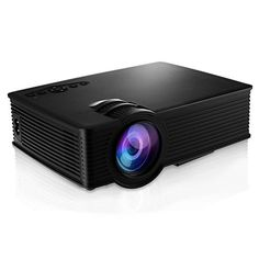 Introducing Portable HD Mini Projector GBTIGER 2000 Lumens 1920 x 1080 Pixels LCDLED Projector Home Theater AV  HDMI port Black. Great product and follow us for more updates!