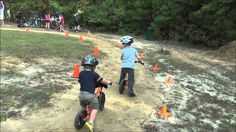 Chick out these gliders racing on the Glide Bikes pump track!