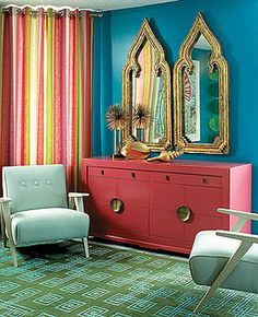 Here are some groovy ways to add 1960s style to your decor!