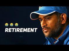 MS DHONI Retirement 💔Emotional😭 WhatsApp Status - YouTube
