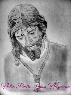 Ntro Padre Jesus Nazareno a lápiz, Huelva