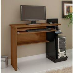 """Mesa para Computador Blum 1,07m - Class Movelaria -Suporte deslizante para teclado -Para monitor de até 32"""" R$219,90  ou 10x de R$21,99 ou R$197,91 no Boleto ou Bankline (10% desconto)"""