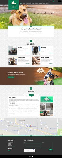 website for hamilton hounds NZ Hound Dog, Business Website, Design Development, Dog Days, Hamilton, Animation, Dogs, Bloodhound, Plott Hound