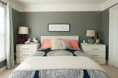 Kendal Rogers' Atlanta Townhome #theeverygirl (NOTE: IKEA nightstands with custom handles!)