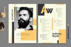 Graphic Design Resume, Cv Design, Resume Design Template, Creative Resume Templates, Cv Template, Templates Free, Design Ideas, Cv Tips, Resume Tips