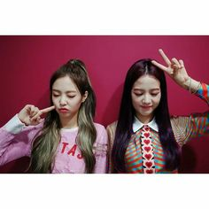 Jennie Jisoo Blackpink