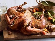 The Ultimate Thanksgiving Feast: Turkey in half the time http://www.prevention.com/food/cook/16-healthy-thanksgiving-recipes?s=2&?cm_mmc=Facebook-_-Prevention-_-food-cook-_-TheUltimateThanksgiving
