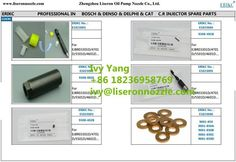 Delphi Injector Spare Parts for Common Rail Diesel Center; in stock. Welcome order sample order to test quality. Contact: Ivy Email/skype:dieselinjector@liseronnozzle.com Phone/whatsapp/ICQ/Line: 86 18236958769