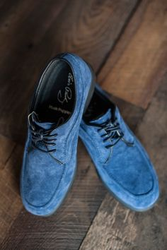 Blue Suede Shoes from the new @lansky126 store in Memphis  a tribute to #Elvis! I'm going tonight!