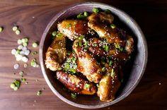 sticky sesame chicken wings
