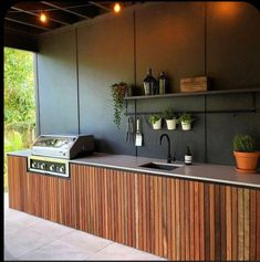 Great Free of Charge outdoor kitchen bbq Popular Backyard kitchen design is highly successful inside the home style and design industry.