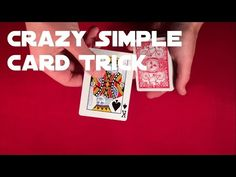What's really cool about this trick is that it is impromptu so it does not require any setup. the trick itself is also very simple so its great for beginners! Card Tricks For Beginners, Easy Card Tricks, Magic Tricks, Playing Cards, Learning, Simple, Amazing, Period, Fun