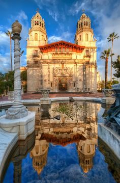 Hearst Castle, San Simeon, CA. Wish we had gone to see this during my recent trip to Napa, next time for sure!!