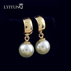 Hot Selling 2016 Fashion Vintage Earrings For Girls Gold-Color Pearl Earring Fashion Jewelry Earrings For Women //Price: $8.99 & FREE Shipping // #beautiful #girl #girls #design #model #styles #outfit #purse #jewelry